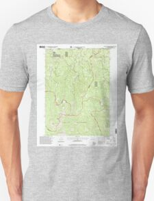 USGS Topo Map California Polar Bear Mountain 101830 1996 24000 T-Shirt