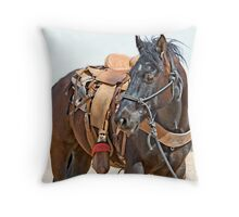 Competition Trained  Throw Pillow