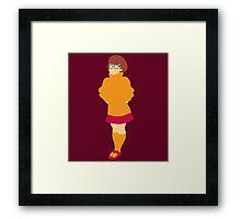 Velma Dinkley Framed Print