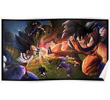 Goku vs Vegeta Poster