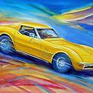 Corvette Stingray 1970 by Brian Tisdall