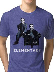19th Century Sherlock and Watson Tri-blend T-Shirt