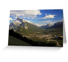 An Evening in Banff Greeting Card
