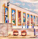 Cleveland Mural  by Marcia Rubin