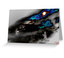 I am Searching for You Greeting Card