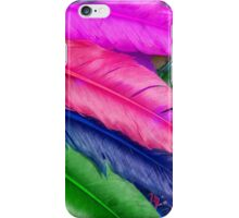 Colorful feathers Iphone Case iPhone Case/Skin