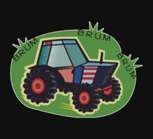 Tractor Time, BRUM BRUM BRUM! Baby Tee