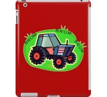 Tractor Time, BRUM BRUM BRUM! iPad Case/Skin