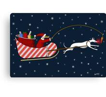 Santa Paws & Roo-dy Canvas Print