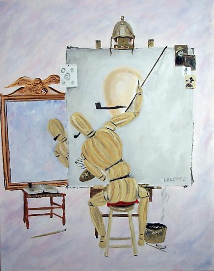 Triple portrait-Tribute to Rockwell by bugler