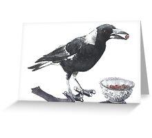Magpie Thief Greeting Card