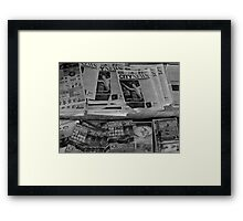 And the news today is....... Framed Print