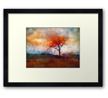 Alone in Colour Framed Print