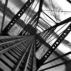 Bridge in Black and White ll by Sara Johnson