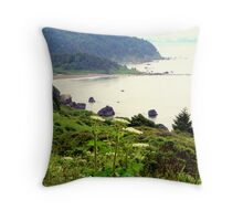 """Queen Anne's Lace"" Throw Pillow"
