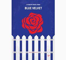 No170 My BLUE VELVET minimal movie poster T-Shirt