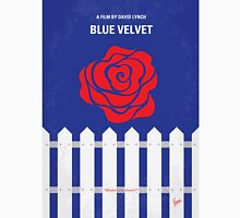 No170 My BLUE VELVET minimal movie poster Unisex T-Shirt