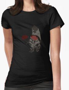 Fallout New Vegas Power Armor Helmet rev B Womens Fitted T-Shirt