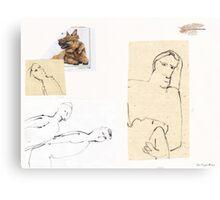 Assignation Canvas Print