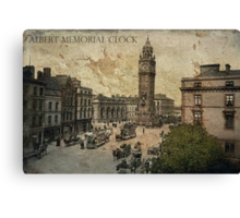 Albert Memorial Clock Tower Canvas Print