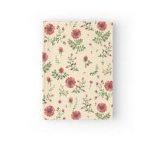 flowers watercolor  Hardcover Journal