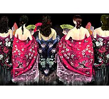 Women in flamenco shawls Photographic Print