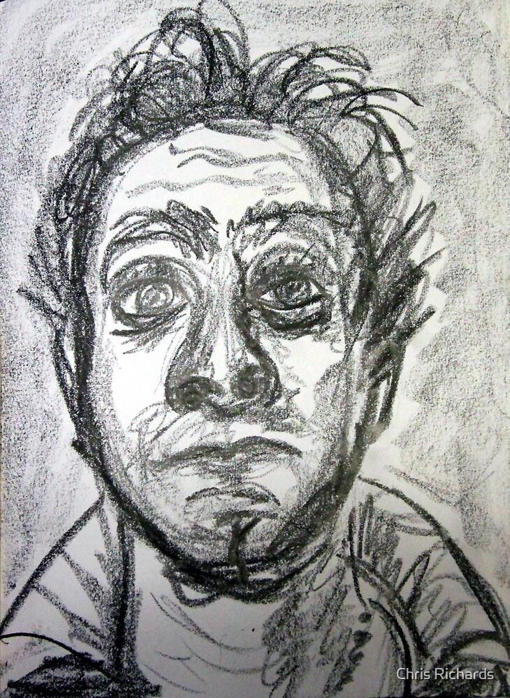60 second self portrait by Chris Richards