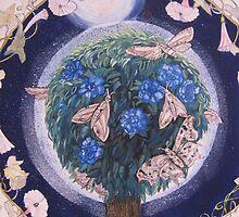 Night Garden by JaneClaire