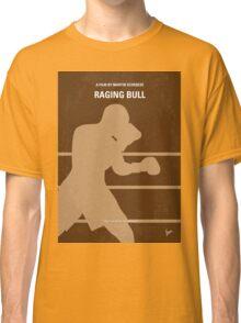 No174 My Raging Bull minimal movie poster Classic T-Shirt