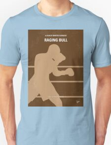 No174 My Raging Bull minimal movie poster Unisex T-Shirt