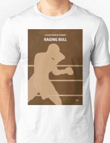 No174 My Raging Bull minimal movie poster Unisex T-Shirt