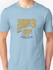Super Mario Bros 3 - Collect Them All! T-Shirt