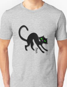 Peep show (s) off retro kitty cat! Unisex T-Shirt