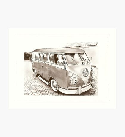 Day Tripper Art Print