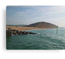 Beach Area West Bay, Bridport, Dorset Canvas Print