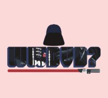 What Would Darth Vader Do? Kids Tee