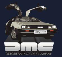 DeLorean Tee Shirt Kids Clothes