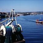 Francis & William BH199 leaving Amble Harbour by nigelphoto