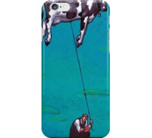 Floating Cow Iphone Case iPhone Case/Skin