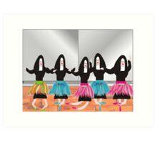 Nuns As Ballerinas Art Print