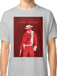 No184 My Django Unchained minimal movie poster Classic T-Shirt