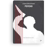No185 My Psycho minimal movie poster Canvas Print