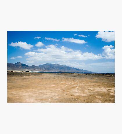 fuerteventura mountains landscape Photographic Print