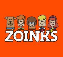 Zoinks - Its Mystery Inc Kids Tee