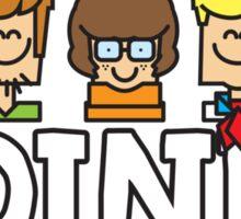 Zoinks - Its Mystery Inc Sticker