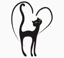 Elegant kittenish CatTee! by patjila