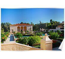 Hamilton Gardens New Zealand - Italian Renaissance Garden Series Poster