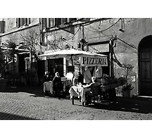 Old dear rustic Pizzeria... Photographic Print