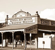 Tonks Bros Hardware, Castlemaine, Victoria by Ian Williams