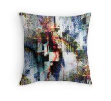 P1390324 _P1390424 _ElectricSheep _GIMP Throw Pillow